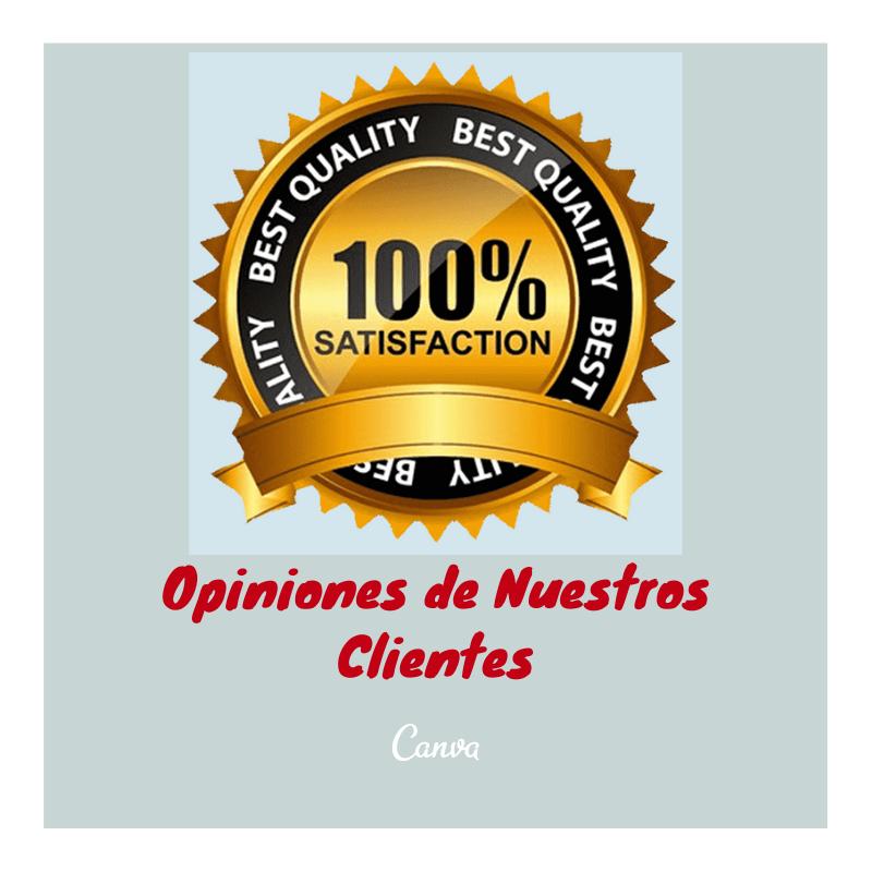 Consulta opiniones de nuestros clientes